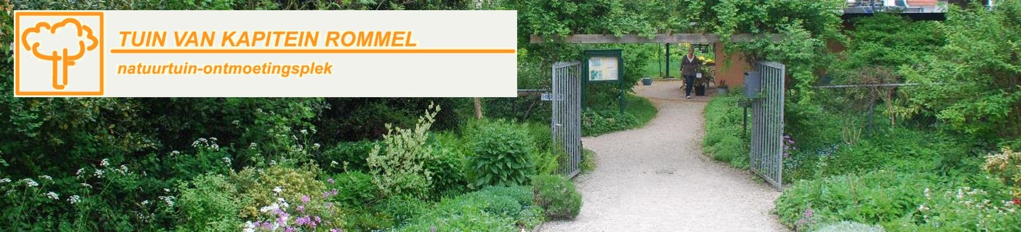 Tuin van Kapitein Rommel-Banner
